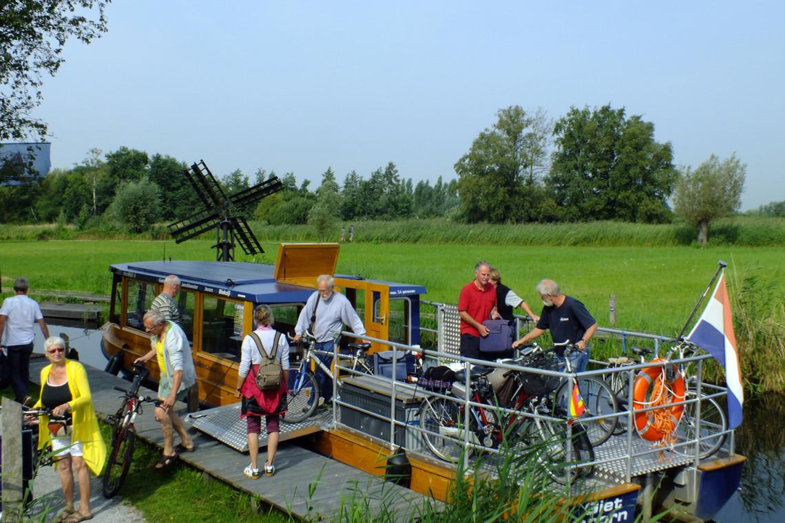 Ausflug vom behindertengerechten Gruppenhaus Suyderzee in den Niederlanden