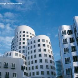 Medienhafen in Düsseldorf für behinderte Menschen