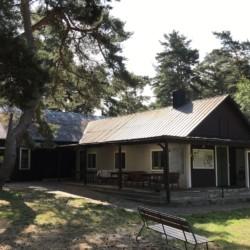 Das Haupthaus im Freizeitheim Gustavs Sommargård in Schweden