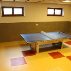 Tischtennis im barrierefreien Freizeithaus Simonyhof für Kinder und Jugendreisen in Österreich.