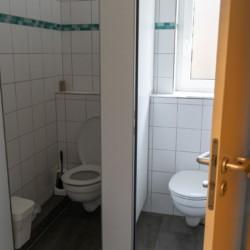 Ein Sanitär im deutschen Freizeitheim Ascheloh
