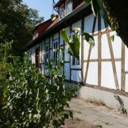 Das Gruppenhaus Burlage in Deutschland von außen.