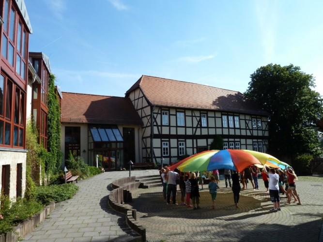 Das deutsche Gruppenhaus Gästehaus Harz für barrierefreie Gruppenreisen.
