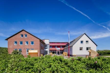 Das Freizeitheim Kajüte auf Langeoog in Deutschland für barrierefreie Gruppenreisen.