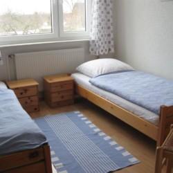 Doppelzimmer im barrierefreien Ferienhaus Kieler Bucht für Menschen mit Handicap