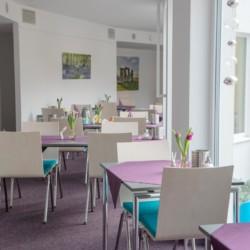 Gruppenraum im Hotel Lichtblick in Deutschland für barrierefreie Gruppenreisen,