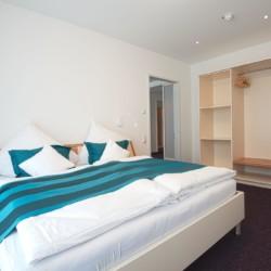 Doppelzimmer im barrierefreien Hotel Lichtblick für Gruppenreisen in Deutschland.