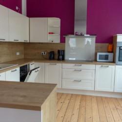 Küche im barrierefreien Gruppenhaus Ostseehof für Menschen mit Behinderung