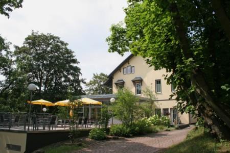 barrierefreies Gästehaus Luisenpark in Erfurt für Menschen mit Handicap