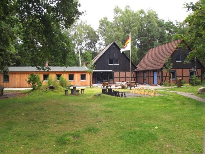 Das deutsche CVJM Freizeitheim Marwede am Wald für Kinder und Jugendreisen in Deutschland.