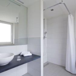 Sanitäre Anlagen im deutschen Freizeithaus für Gruppen Fit Hotel Much - Bergisches Land***.