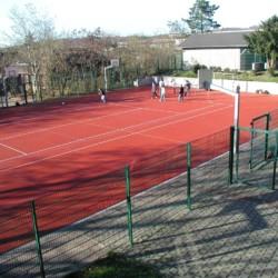 Sportplatz am deutschen Freizeitheim Schotten für Kinder und Jugendliche.