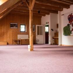 Andachtsraum im christlichen Freizeitheim Seeste.