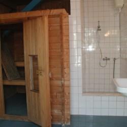 Die Sauna im christlichen Freizeitheim Seeste.