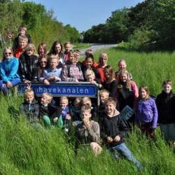 Ausflug im dänischen Freizeitheim Boll´s Lejrskole auf der Insel.