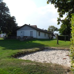 Die Natur um das dänische Gruppenhaus Ristingegaard.