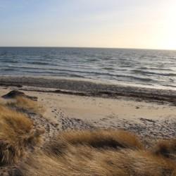 Strand und Meer am dänischen Freizeithaus Ristingegaard für Kinder und Jugendreisen.