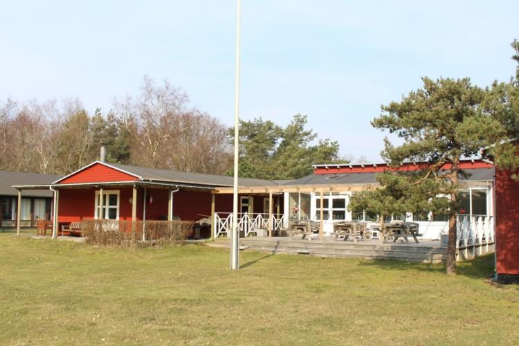 Das dänische Gruppenhaus Ebeltoft Strand für Kinder und Jugendfreizeiten am Meer.