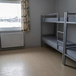 Der Achterzimmer im dänischen Kinder- und Jugendfreizeitheim Rubjerglejren direkt am Meer.
