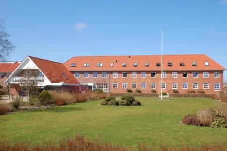 Das Freizeithaus Solgarden Efterskole für große Gruppen in Dänemark.