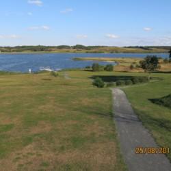 Die Umgebung des Gruppenhauses Virksund in Dänemark.