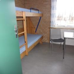 Doppelzimmer im dänischen Gruppenhaus Haervejens