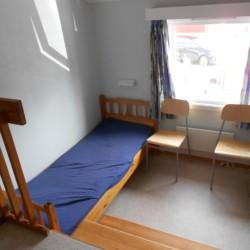 Zweibettzimmer im norwegischen Freizeitheim am See Solsetra