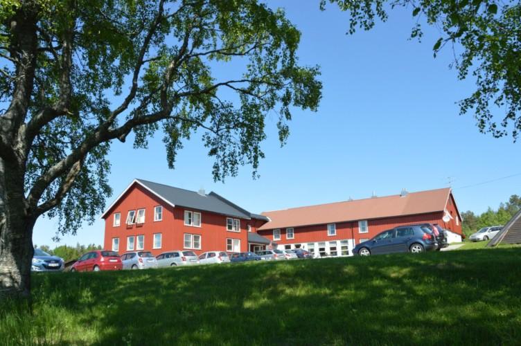 Das norwegische Freizeitheim am See mit Profiküche.
