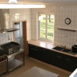 Die Küche im Freizeitheim Burlage.