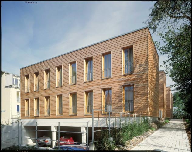 Das Gruppenhaus Heringsdorf in Deutschland.