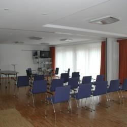 Der Gruppenraum im Gruppenhaus Heringsdorf in Deutschland.
