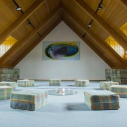 Gruppenraum im Freizeitheim Ering in Bayern für Jugendfreizeiten