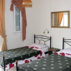 Doppelzimmer im griechischen Gruppenhaus für Menschen mit Behinderungam Meer