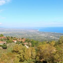 Blick vom Olymp beim griechischen Feriencamp für Jugendfreizeiten direkt am Mittelmeer