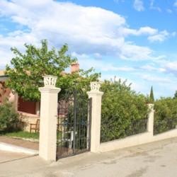 Die Anlage des Hotels Villa Olymp in Griechenland.