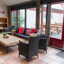 Gruppenraum für christliche Freizeiten im Freizeitheim Zwerfsteen in den Niederlanden