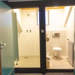 NLZB Sanitär im niederländischen Freizeithaus Benelux für Behindertengruppen