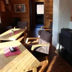 Der kleine Gruppenraum im norwegischen Gruppenhaus Omlid.