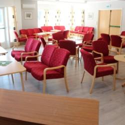 Gruppenhaus in Norwegen mit vielen Gruppenräumen. Auch große Gruppenräume.