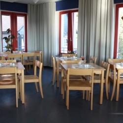 Gruppenraum im barrierefreien Gruppenhotel Zittauer Gebirge für behinderte Menschen
