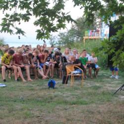GRC2 Selbstversorger-Küche im griechischen Feriencamp für Jugendfreizeiten direkt am Mittelmeer