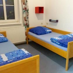 Schlafraum im Freizeitheim Burlage in Deutschland