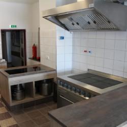 Profi-Küche im österreichischen Freizeitheim