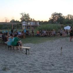 GRC1Treffpunkte im griechischen Feriencamp für Jugendfreizeiten direkt am Meer