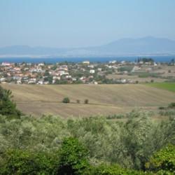 GRVO Die Anlage des Hotels Villa Olymp in Griechenland.