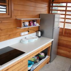 Außenküche am slowenischen Gruppenhaus Ljutomer