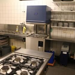 Profi-Spülmaschine im dänischen Gruppenhaus Ristingegaard