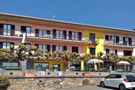 Das Gruppenhaus La Capannina in Italien von außen.