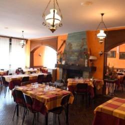 Der Speisesaal des italienischen Gruppenhauses La Capannina.