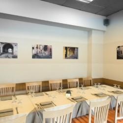 Der Essbereich im italienischen Gruppenhotel Residence dei Fiori***.